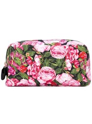 Dolce And Gabbana Floral Printed Make Up Bag Unavailable