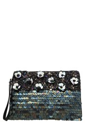 Miss Selfridge Clutch Navy Blue Dark Blue