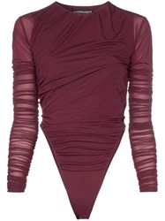 Y Project Ruched Detail Body Purple
