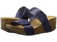 Eric Michael Cody Navy Women's Wedge Shoes