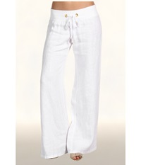 Lilly Pulitzer Beach Pant Resort White Women's Casual Pants