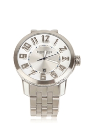 Tendence Swiss Made Stainless Steel Watch White Silver