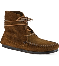 Isabel Marant Flavie Suede Moccasin Ankle Boots Brown
