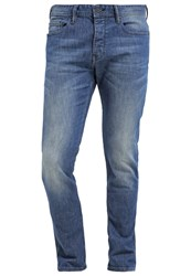 Boss Orange 90 Relaxed Fit Jeans Bright Blue Blue Denim