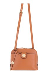 Lodis Rodeo Under Lock And Key Izabella Rfid Leather Crossbody Bag Brown Toffee
