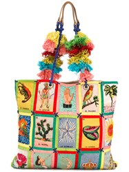 Jamin Puech Loteria Shopping Bag