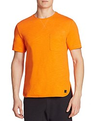 Madison Supply Basic Cotton Tee Orange