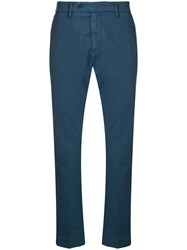 Al Duca D'aosta 1902 Straight Leg Trousers Blue