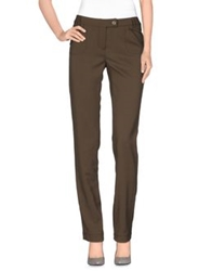 Germano Zama Casual Pants Khaki