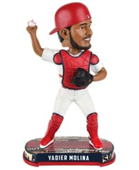 Forever Collectibles Yadier Molina St. Louis Cardinals Headline Bobblehead Red