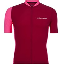 Cafe Du Cycliste Marine Cycling Jersey Red