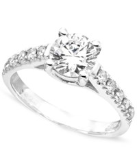 Macy's Engagement Ring Diamond 1 1 2 Ct. Tw. And 14K White Gold