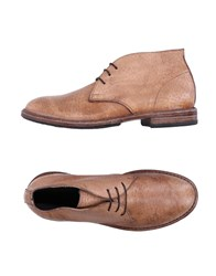 Moma Ankle Boots Sand