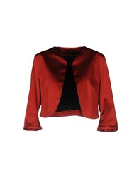 Io Couture Blazers Red