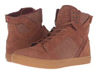 Supra Skytop Brown Leather Men's Skate Shoes