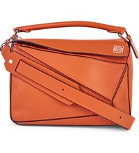 Loewe Puzzle Multi Function Leather Bag Coral