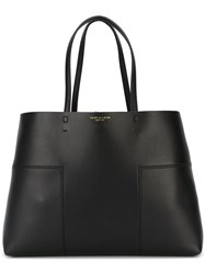 Tory Burch Panelled Tote Bag Black
