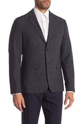 Theory Clinton Eclipse Multi Two Button Notch Lapel Suit Separates Jacket
