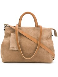 Marsell Large Tote Leather Brown