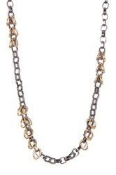 14Th And Union Long Loop Link Chain Necklace Metallic