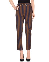 Ter Et Bantine Trousers Casual Trousers Women Dark Blue