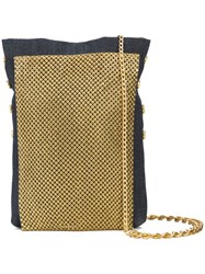 Laura B Studded Disco Bag Metallic