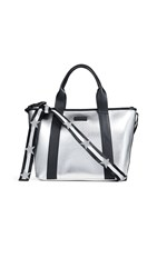 Kendall Kylie Jazz Tote Silver