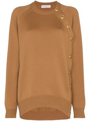Givenchy Button Detail Slouchy Jumper 60