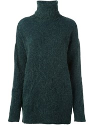 N 21 No21 Roll Neck Pullover Green