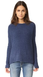 Vince Oversized Crew Sweater H. Blue
