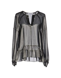 Mauro Grifoni Blouses Steel Grey