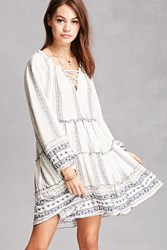 Forever 21 Velzera Abstract Print Tunic