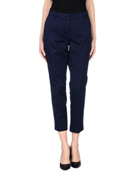 Rossopuro Trousers Casual Trousers Women Slate Blue