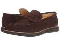 Bugatchi Lecce Loafer Chocolate Men's Shoes Brown