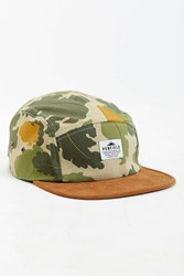 Penfield Casper Camo 5 Panel Hat Multi