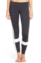 Women's Onzie 'Power' Colorblock Leggings Black