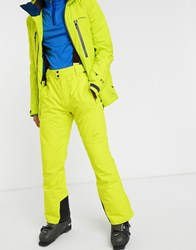 Protest Oweny Ski Pant In Yellow