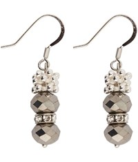Viyella Diamante Facet And Jacks Earrings