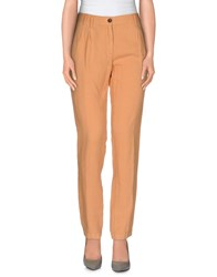 M.Grifoni Denim Trousers Casual Trousers Women Apricot