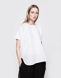 Studio Nicholson Spiga Top Optic White