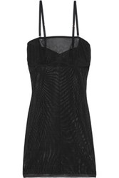 Yummie Tummie Stretch Mesh Slip Black