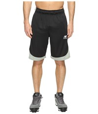 New Balance Baseball Training Shorts Team Black Men's Shorts
