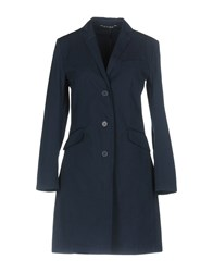 Hope Collection Coats And Jackets Overcoats Dark Blue