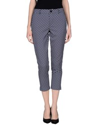 Anonyme Designers Trousers Casual Trousers Women Dark Blue
