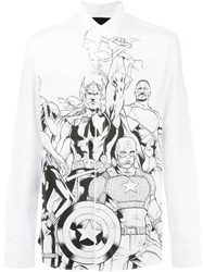 Philipp Plein 'The Avengers' Shirt White