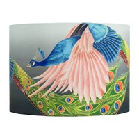Anna Jacobs Flying Peacock Lamp Shade Multi