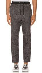 Native Youth Umbra Trouser In Gray. Grey