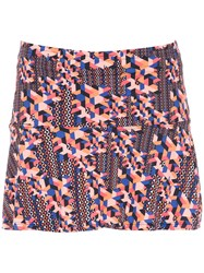 Track And Field Printed Skirt Multicolour