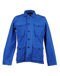Closed Jackets Azure