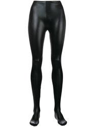 Tom Ford Faux Leather Leggings Black
